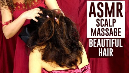 ASMR Massage for Scalp & Neck, How to Relieve Headaches & Pain, Whispered Tutorial for Sleep, Hair