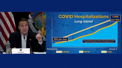 LIVE - Governor Andrew Cuomo makes an announcement at a COVID-19 briefing