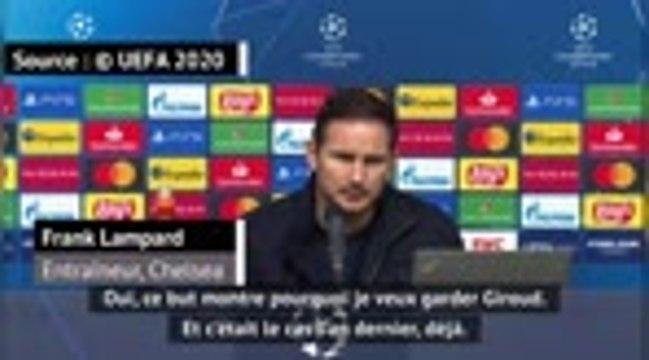 "Groupe H - Lampard : ""Giroud va débuter des matches"""
