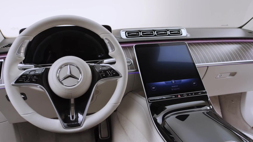 The new Mercedes-Maybach S-Class Interior Design