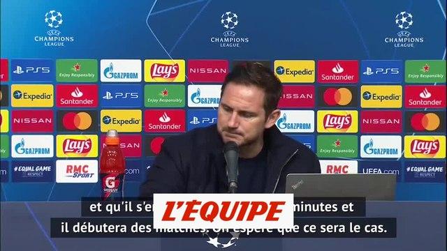 Frank Lampard : « Olivier Giroud va avoir des matches comme titulaire » - Foot - C1 - Chelsea