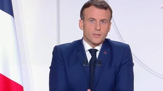 Discours d'Emmanuel Macron, dès les premières secondes les internautes se déchainent pour un détail
