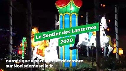 Sentier des Lanternes de Metz 2020