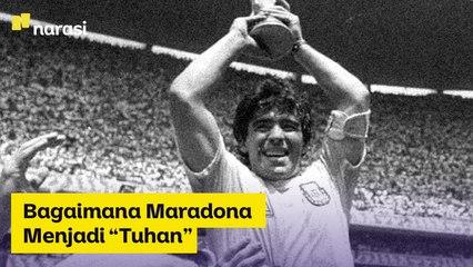 """Bagaimana Maradona Menjadi """"Tuhan""""   Narasi Newsroom"""