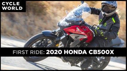 2020 Honda CB500X First Ride Review
