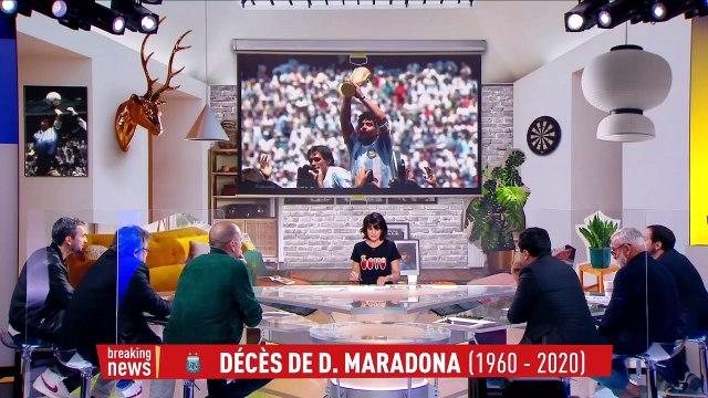 Marcos : «Il rendait les équipes meilleures» - Foot - Maradona