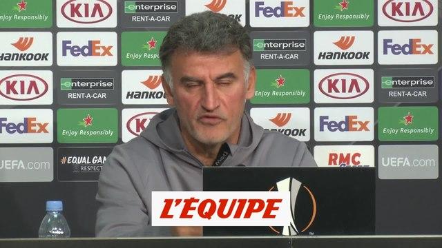 Galtier : «Sans Zlatan, le Milan devrait changer d'organisation» - Foot - C3 - Lille