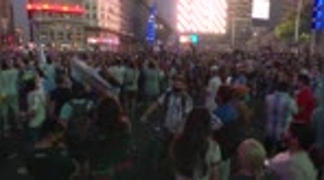 Maradona - Les Argentins se réunissent à Buenos Aires