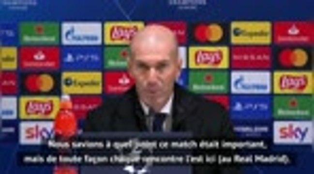 """Groupe B - Zidane : """"Cette équipe a du coeur et de la personnalité"""""""