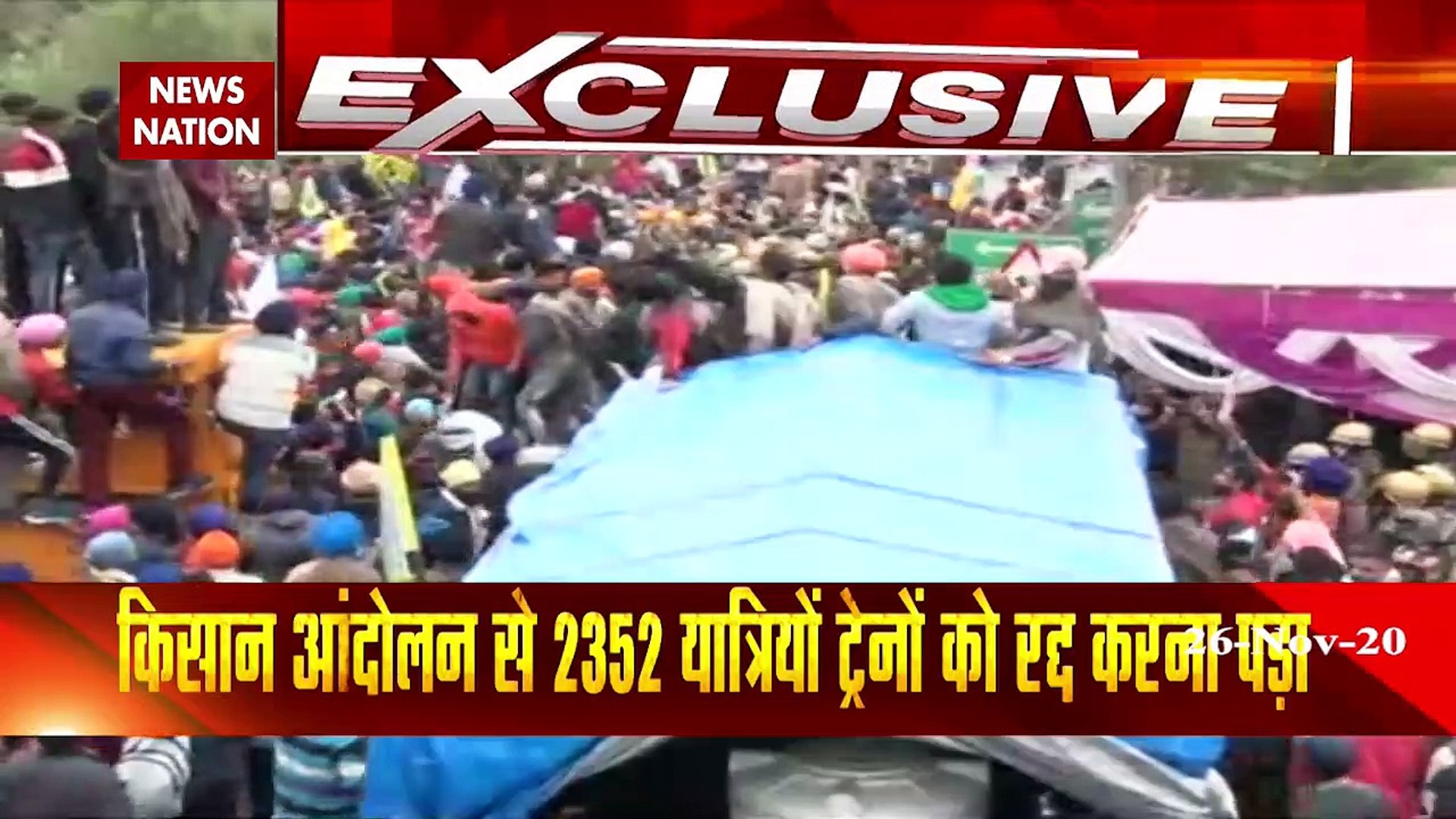 Farmer Protest: Watch ground report from Shambhu border, Ambala
