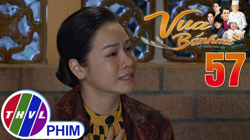 Vua bánh mì - Tập 57[1]: Bà Dung rất xúc động khi biết được tin tức của con trai