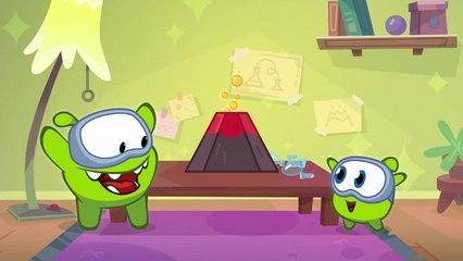 Om Nom Stories: Nibble Nom - Eruption Disruption - Funny cartoons for kids