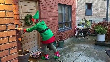 Good for your Elf! Edinburgh woman is one of Santas little helpers