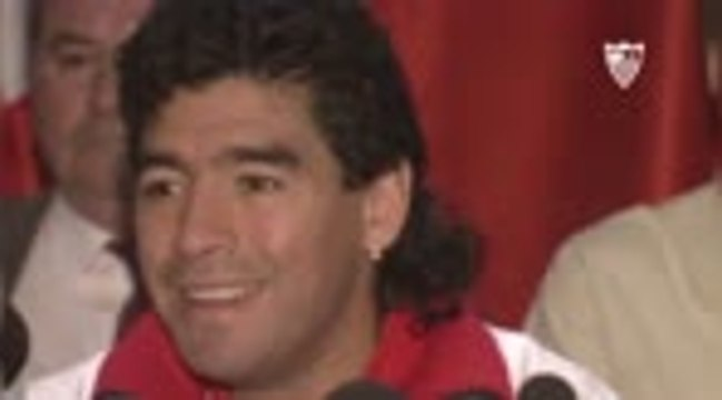 La Liga - Le FC Séville rend hommage à Diego Maradona