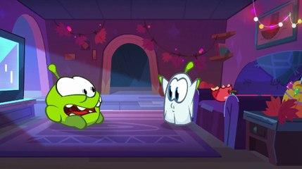 Om Nom Stories: Nibble Nom - Tiny Ghost - Funny cartoons for kids