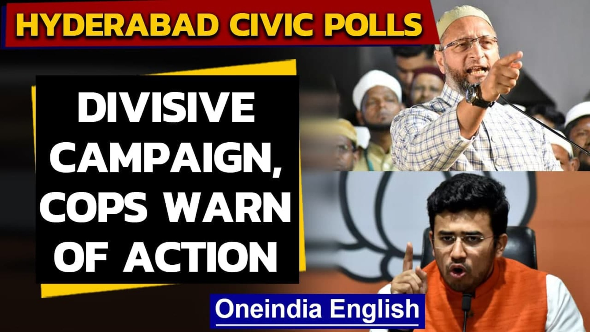 Hyderabad civic polls: Cops to monitor communal speeches | Oneindia News