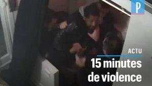 Paris: Michel, frappé par des policiers sous l'oeil d'une caméra