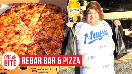 Uber Debbie Pizza Review - Rebar Bar & Pizza (West Haven, CT) presented by Mugsy Jeans