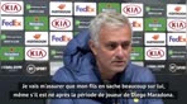 """Maradona - Mourinho : """"Je regrette de ne pas avoir passé plus de temps avec lui"""""""