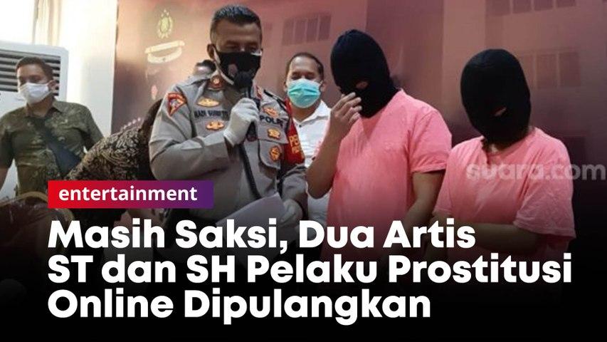 Masih Saksi, Dua Artis ST dan SH Pelaku Prostitusi Online Dipulangkan
