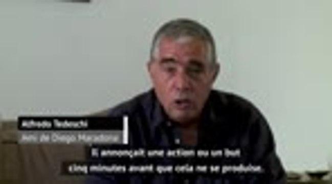 """Maradona - """"Il annonçait un but 5 minutes avant"""", se souvient l'un de ses amis"""