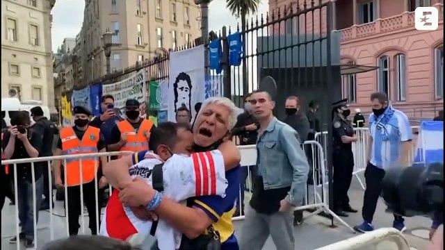 Les supporters de Boca et River unis dans une même douleur