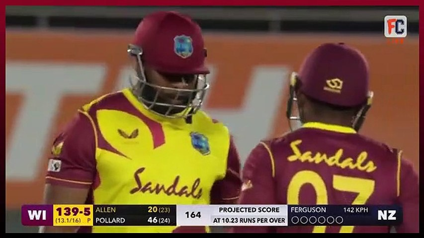 NZ vs WI 1st T20 Highlights