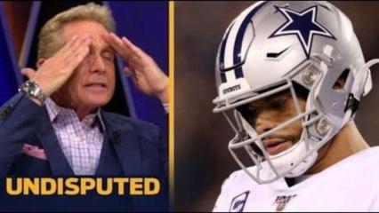 Dallas Cowboys fall to Washington Football 41-16: NO DAK NOTHING - Skip Bayless   UNDISPUTED