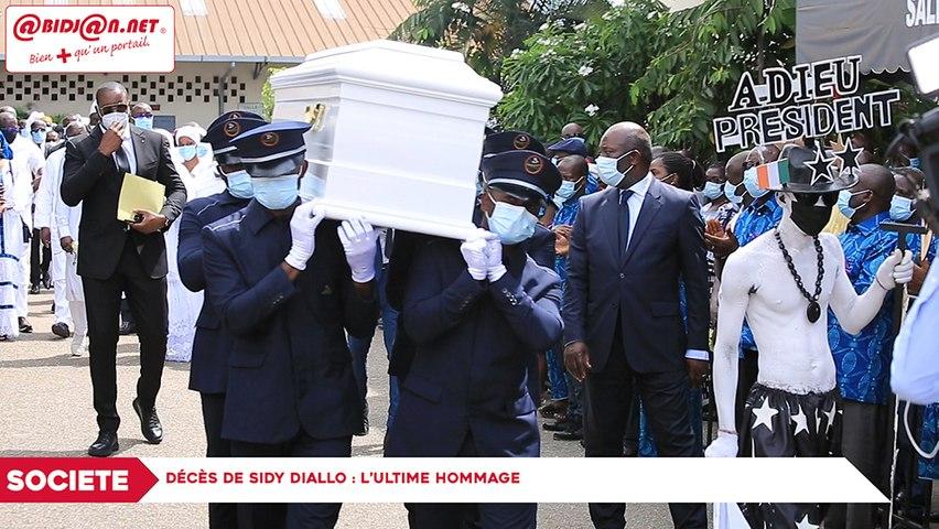 Décès de Sidy Diallo:  l'ultime hommage