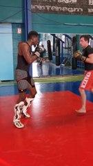 Préparation classe Pro en kick boxing