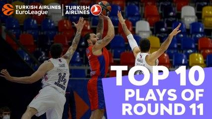 Regular Season, Round 11: Top 10 plays