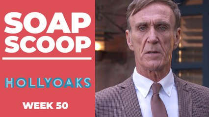 Hollyoaks Soap Scoop! Edward's luck starts to run out