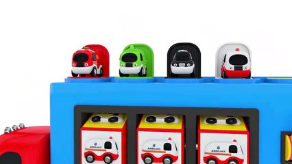 Colors for Children to Learn with Street Vehicles Toys - Colors Collection for Children