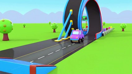 Learning Colors with Street Vehicles Passing through Loop - Toy Cars for KIDS