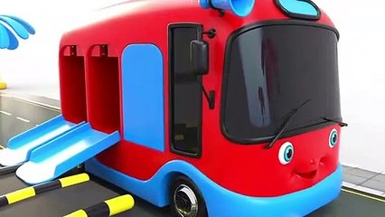 Learn Colors with Street Vehicles Toys Parking - Toy Cars for KIDS