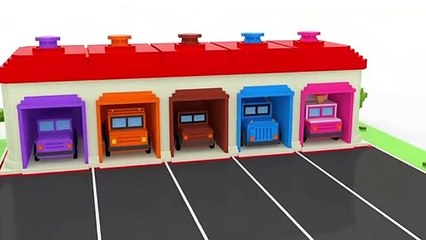 Learning Colors with Street Vehicles Toys - Educational Videos for KIDS