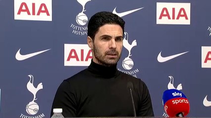 """We need to score goals!"" Mikel Arteta on 2:0 defeat by Tottenham"