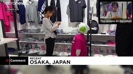 رُبات ژاپنی گشت ارشاد ماسک و فاصله اجتماعی شد