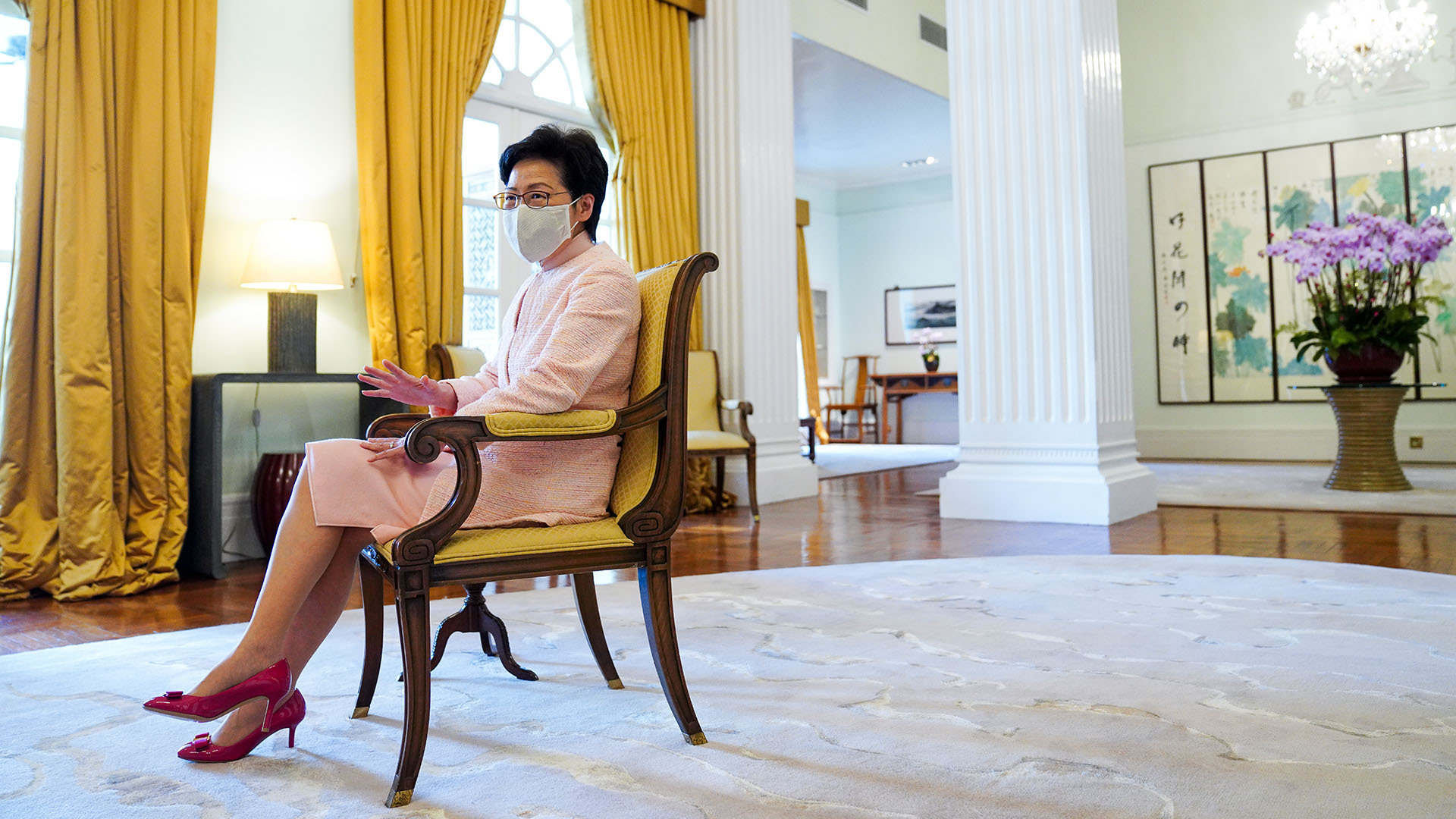 Hong Kong leader Carrie Lam to get tough on Covid-19 prevention measures cases surpass 100