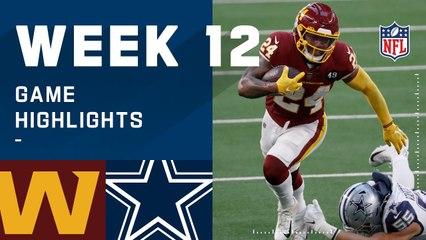 Washington Football Team vs. Cowboys Week 12 Highlights   NFL 2020