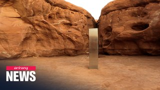 Utah monolith: Has the mysterious metal object disappeared?