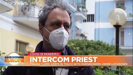 Intercom priest: Italian cleric reaching parishoners one visit at a time
