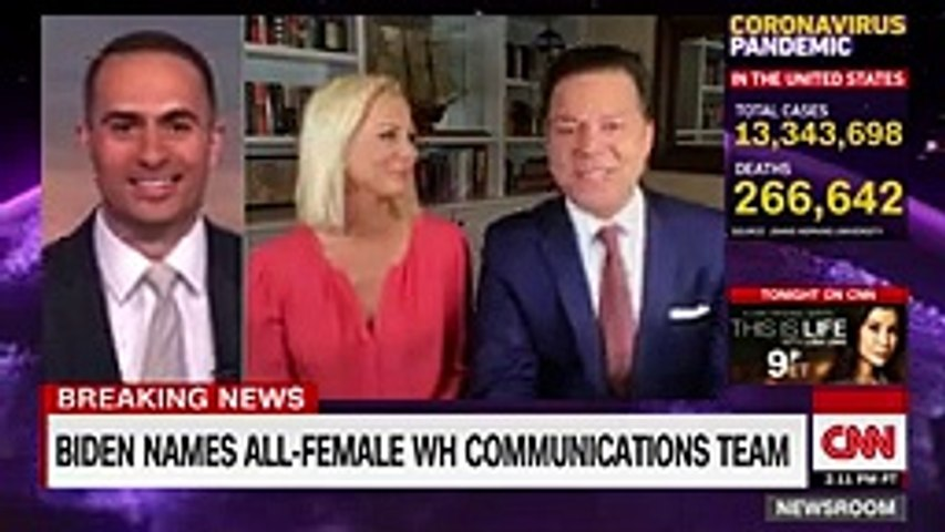 Biden announces all-female communications team, diverse economic team