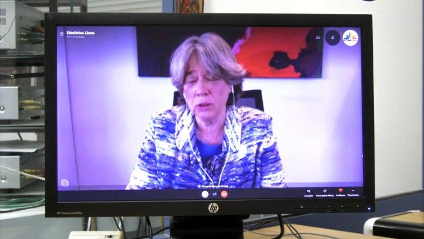 Αθηνά Λινού: Είμαι 100% σίγουρη για την ασφάλεια του εμβολίου κατά του κορονοϊού
