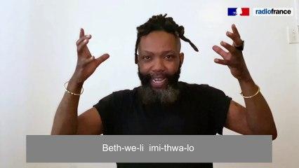 Tuto chant de Tubatsi Mpho Moloi pour Nampaya_