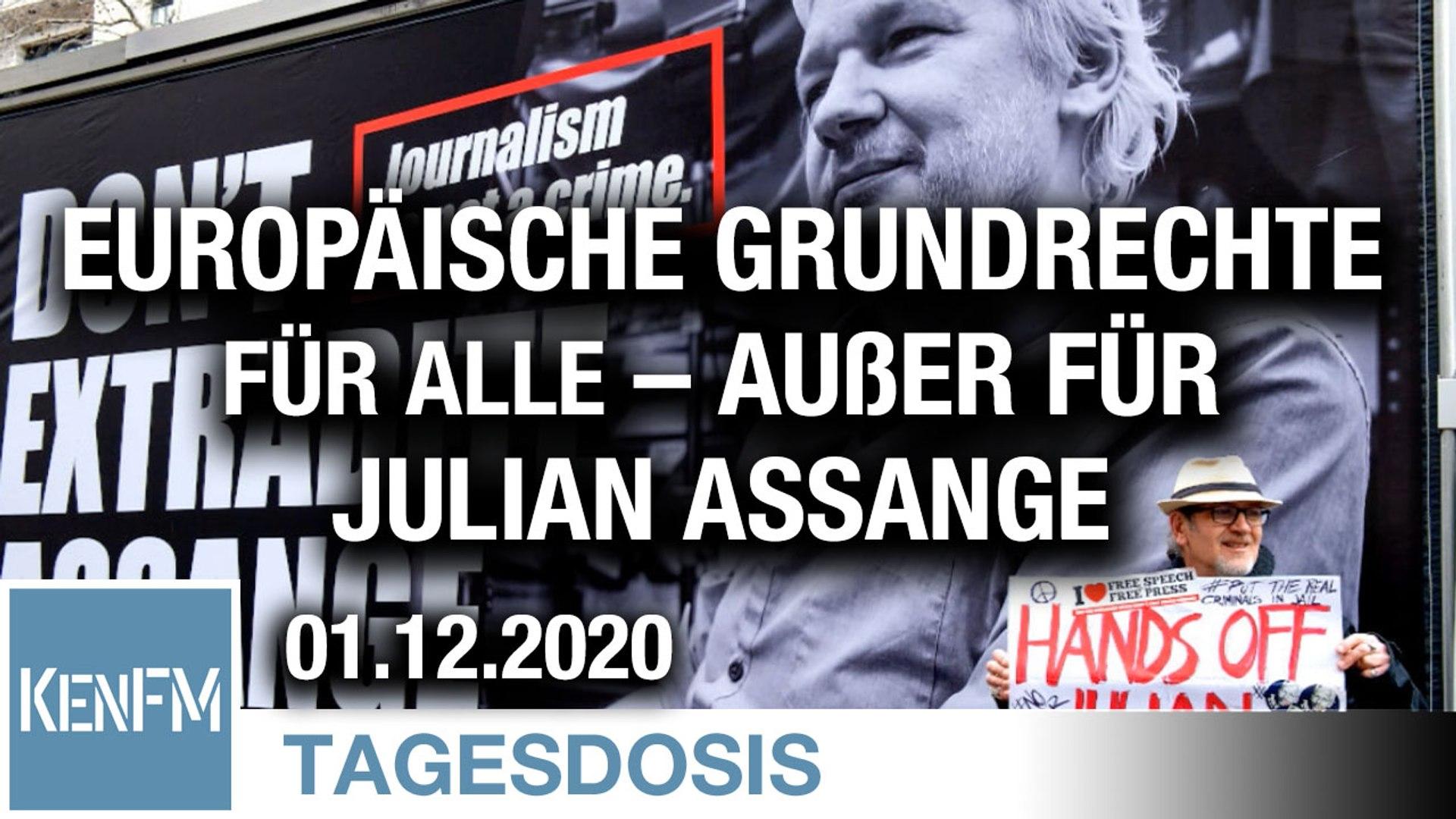 Europäische Grundrechte für alle – außer für Julian Assange | Von Mathias Bröckers
