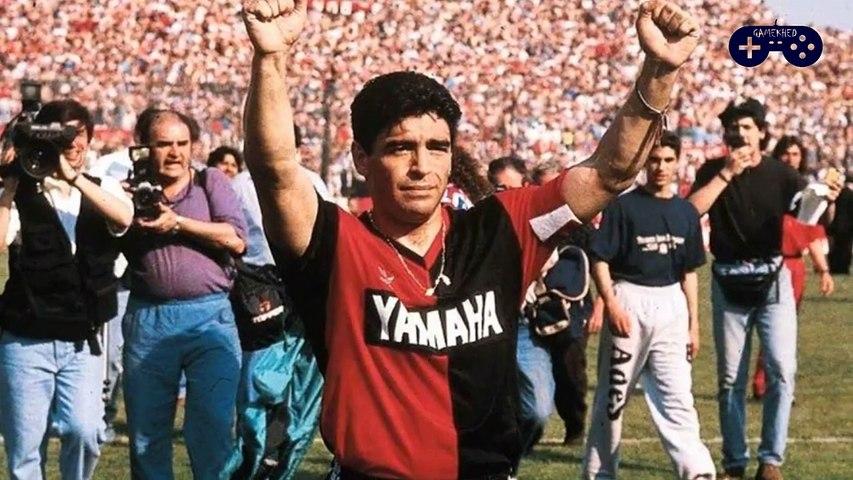 Lionel Messi Special Tribute to Diego Maradona in Barca win vs Osasuna