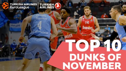 Top 10 Dunks of November!