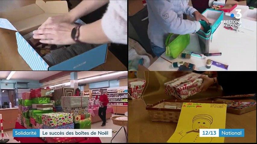 Solidarité : des boîtes de Noël à destination des sans-abris
