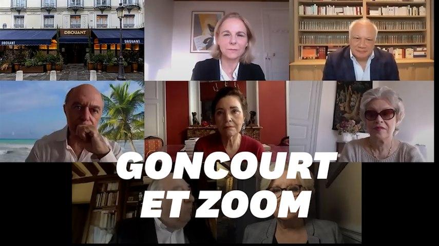 Le Prix Goncourt 2020 via Zoom ne s'est pas déroulé sans petites encombres technologiques